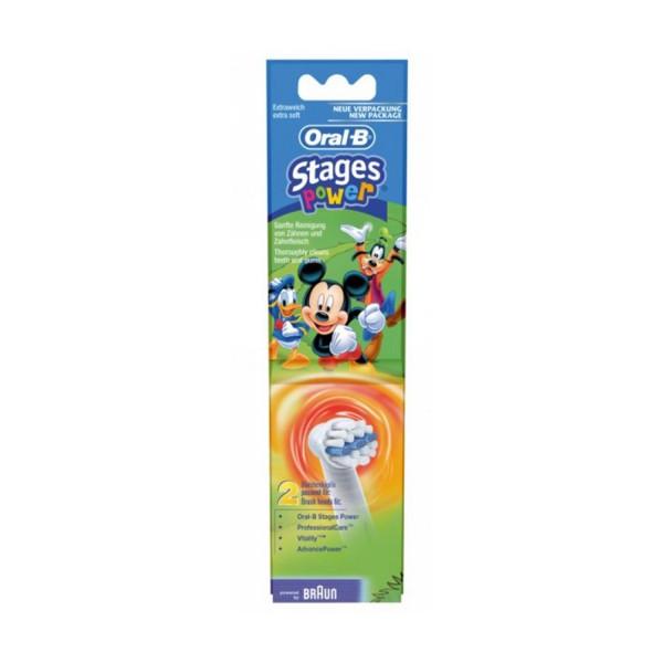 OralB Stages Power Ersatzbürste 2er