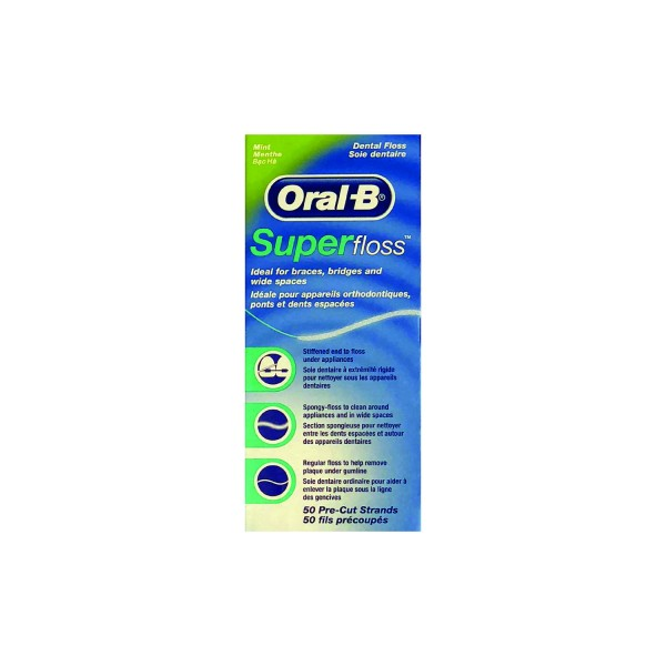 OralB Superfloss Mint