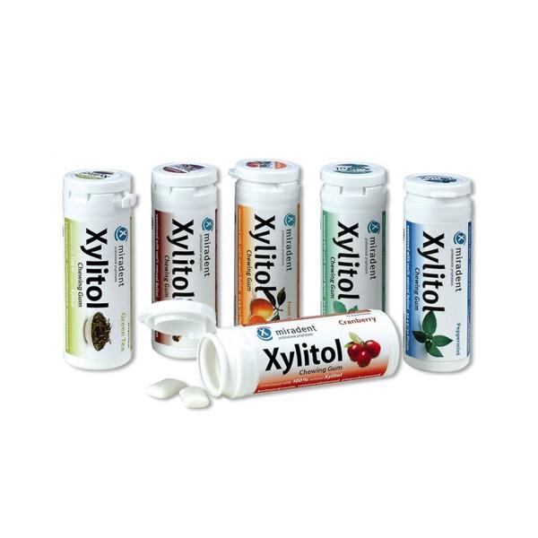 miradent Xylitol-Kaugummi