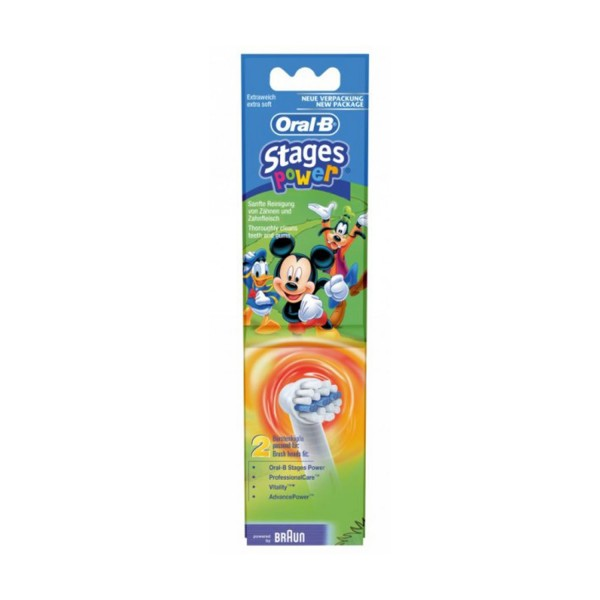 OralB Stages Power Ersatzbürste 4er