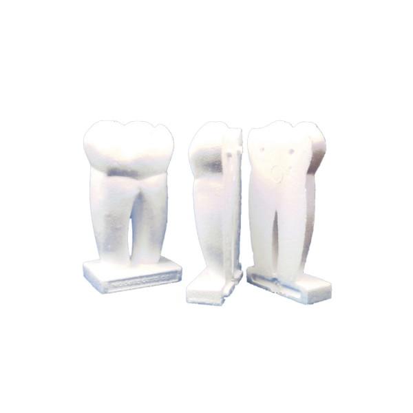 Styropor Zahn